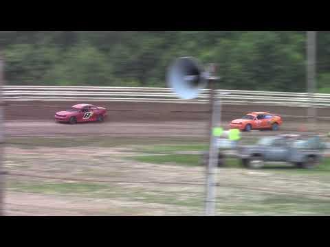 Hummingbird Speedway (6-16-18): Aaron's Four-Cylinder Heat Race #1