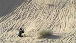 Brawley Slide Gone Bad - Quad Crashes While Jumping In Glamis Ca.