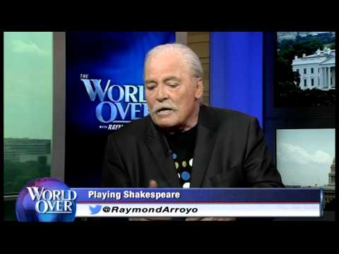 World Over  20140522  Stacy Keach with Raymond Arroyo