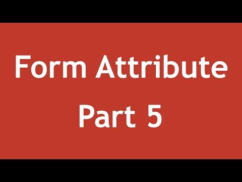 [ Html5 In Arabic ] #25 - Form Attributes - Min, Max, Step, Pattern