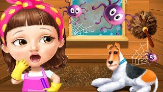 Sweet Baby Girl Cleanup Games - House Makeover, Pony Care & BBQ Pool Party Games By Tutotoons