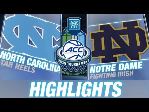 North Carolina vs Notre Dame | 2015 ACC Championship Highlights