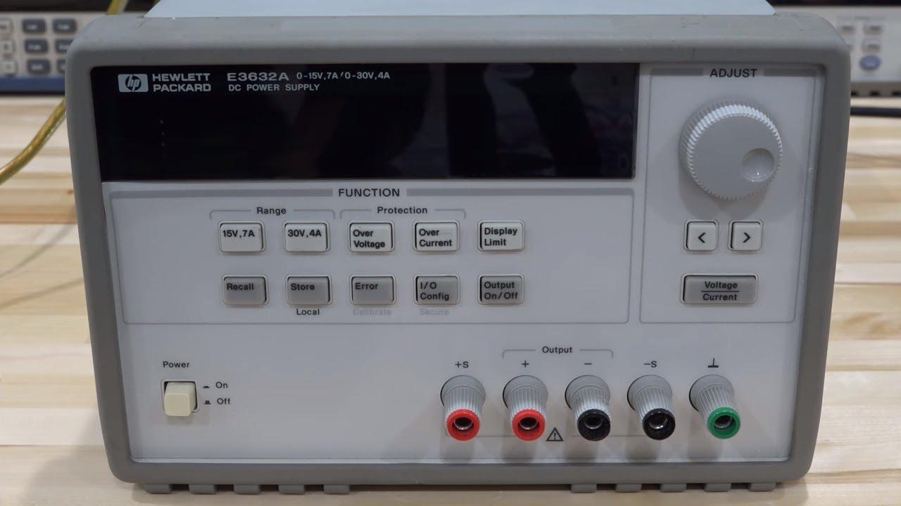 TSP #108 - Teardown & Repair of an Agilent E3632A DC Power Supply