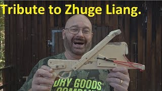 """Jörg-Ko-Nu"": Enhancing The Ancient ""Full Auto"" Chinese Crossbow?"