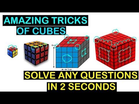 Amazing Tricks of Cube Problems #reasoning