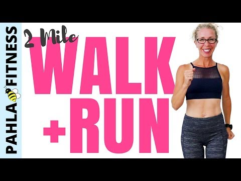 2 Mile INDOOR WALK + RUN | How to Stop STARTING OVER | 30 Minute WALKING Workout