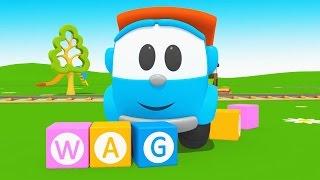 Cartoni Animati per Bambini - Leo Junior alfabeto |  la lettera W