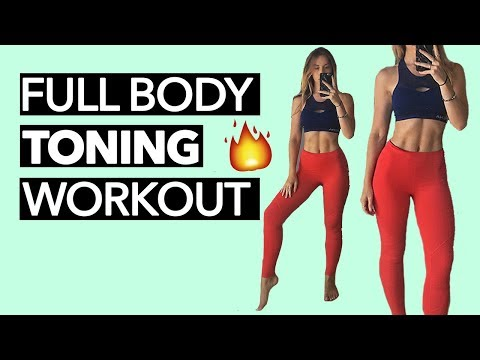 Full Body Toning Workout (15 Minutes)