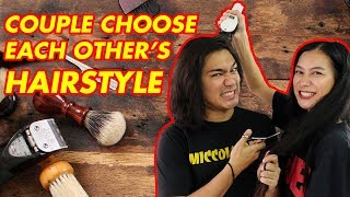 COUPLES GIVE EACH OTHER SURPRISE HAIR MAKEOVERS (PHILIPPINES) | BF/GF | WE DUET