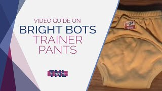 Bright Bots Trainer Pants by The Nappy Lady