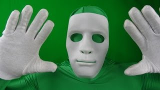 """CHROMA KEY GRÜNER ANZUG / GREEN SPECIAL EFFECTS BODY SUIT"" -Vorstellung"