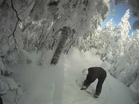 Mont-Tremblant Ski SECRET TRAIL (LADIX) GoPro HD