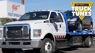 Tow Truck for Children | Truck Tunes for Kids | Twenty Trucks Channel