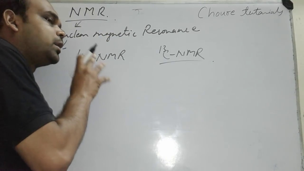 Nmr Principle In Hindi Youtube