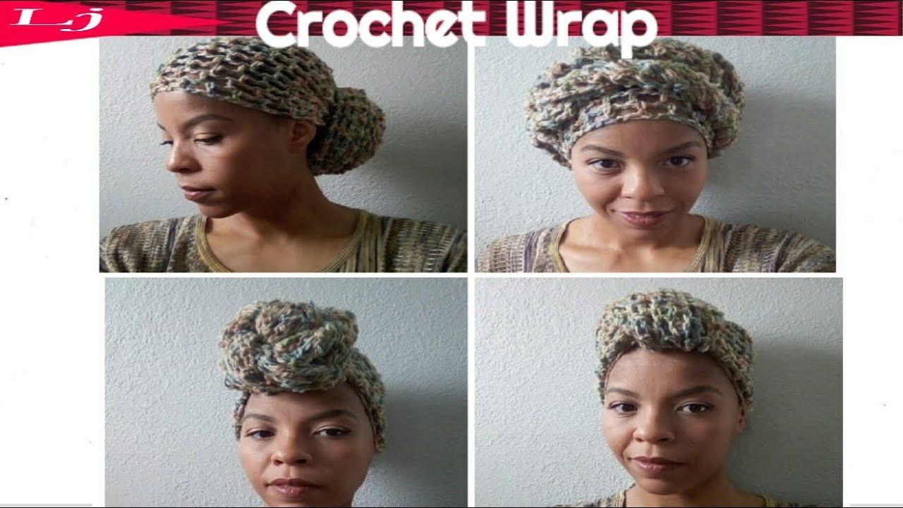 Crochet head wrap pattern - YouTube