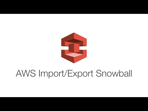 Introduction to the AWS Snowball - Large-Scale Data Transfers‎ on AWS