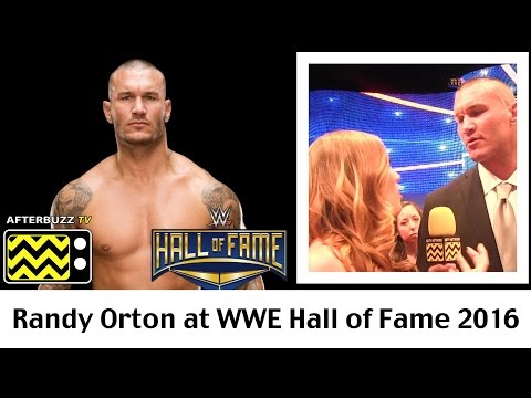Randy Orton Hall Of Fame 2016 Interview | AfterBuzz TV