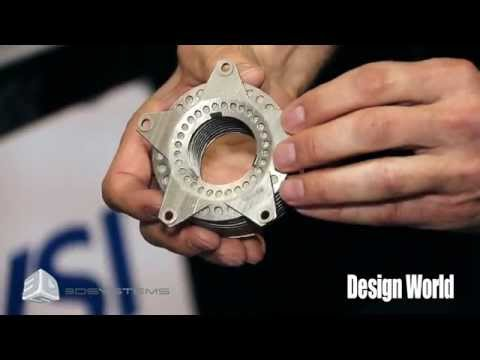AUVSI 2015: Cloud-Manufacturing Services with 3D Systems Quickparts