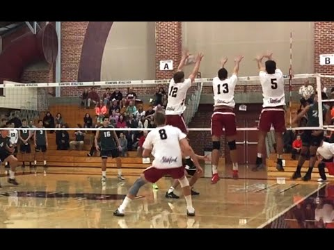 Hawaii vs Stanford - Full Game Men's Volleyball Highlights (2/12/16)