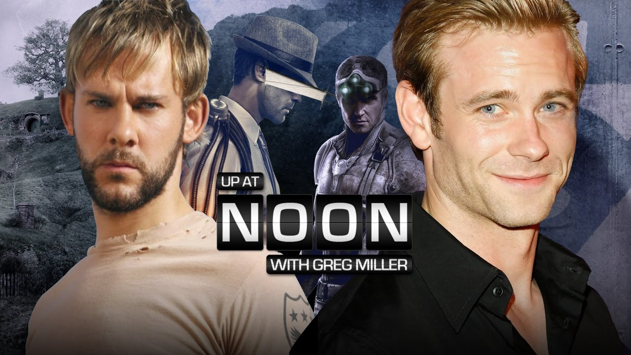 Dominic Monaghan up at noon