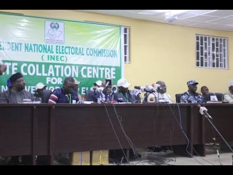 LIVE: INEC ANNOUNCES OSUN STATE ELECTION RESULTS AND WINNER