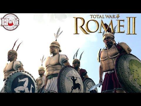 Carthage vs Pergamon - Total War Rome 2 Online Battle Video 400