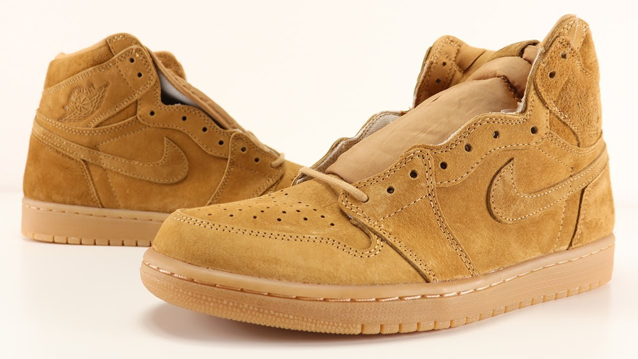 AIR JORDAN 1 WHEAT REVIEW - YouTube b1983cdab3