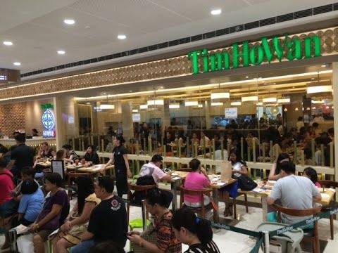 Tim Ho Wan Manila SM Mega Mall Fashion Hall Mandaluyong Philippines Now Open by HourPhilippines.com