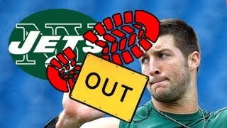 Tim Tebow 2013 NFL season ruined by New York Jets