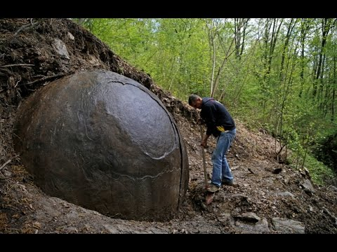 Giant Stone Ball mystery solved