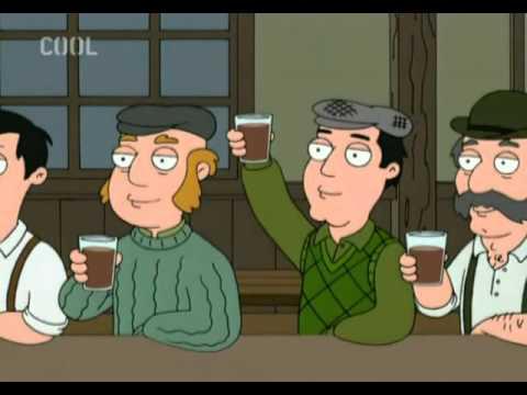 My Drunken Irish Dad (czech lyrics)