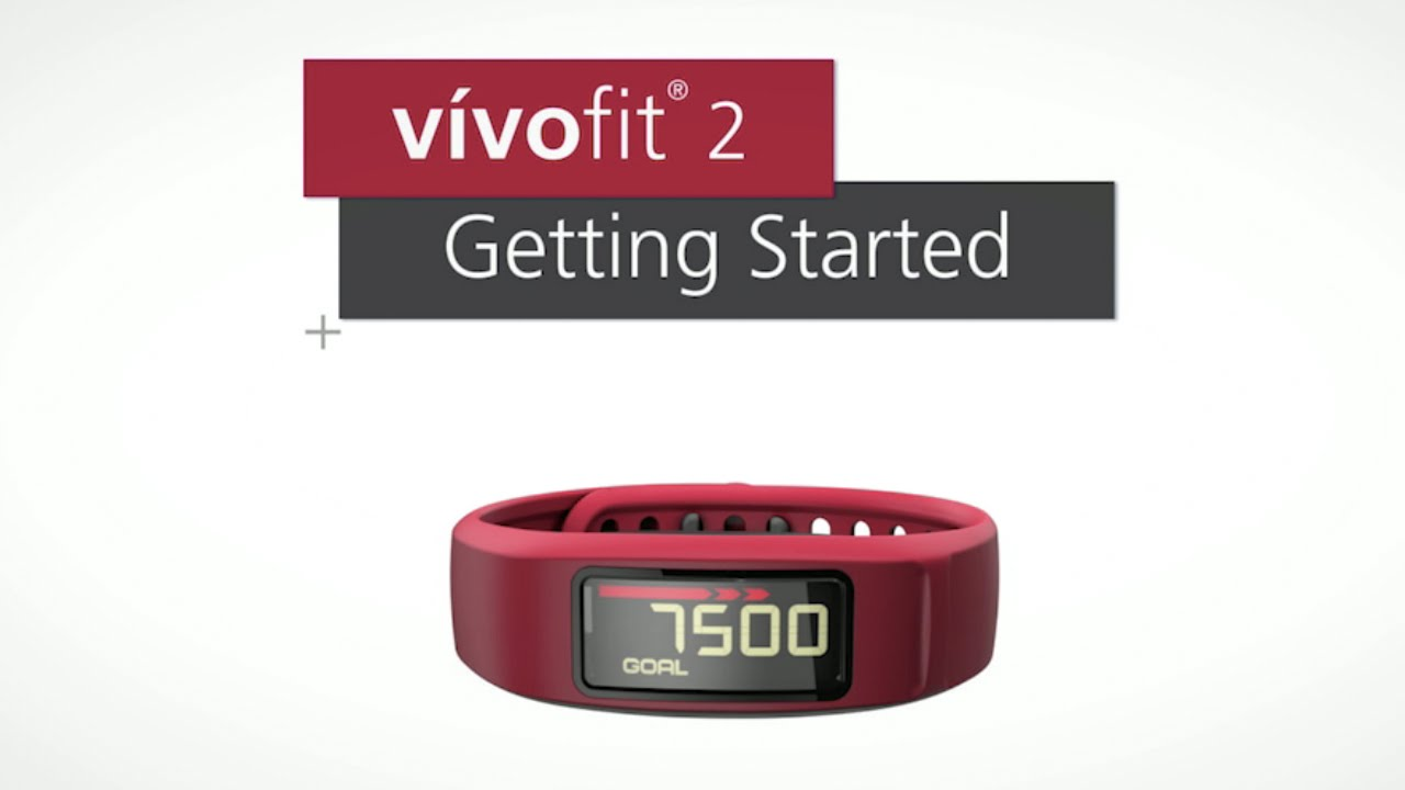 Garmin Vvofit 2 Getting Started Youtube