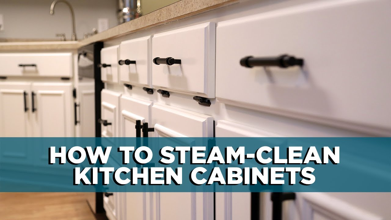 How To Clean Your Kitchen Cabinets And Make Them Smell Great Tips Youtube
