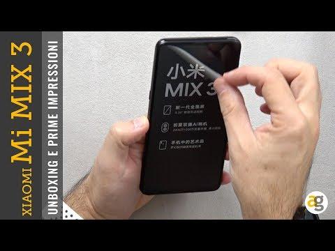 Unboxing MI MIX 3 e PRIME IMPRESSIONI dello XIAOMI SLIDER. Ma NON SOLO!