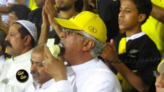 العندليب صالح القرنى نادي الشعب واحلي طرب فى مباراة الاتحاد والعين