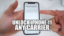 How To Unlock iPhone 11 To Use With Any Carrier In 2020