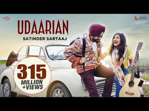 Udaarian 4k Video Satinder Sartaaj  Jatinder Shah  Sufi Love Songs  New Punjabi Songs 2018