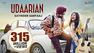 Udaarian (4K ) Satinder Sartaaj | Jatinder Shah | Sufi Love Songs | New Punjabi Songs 2018