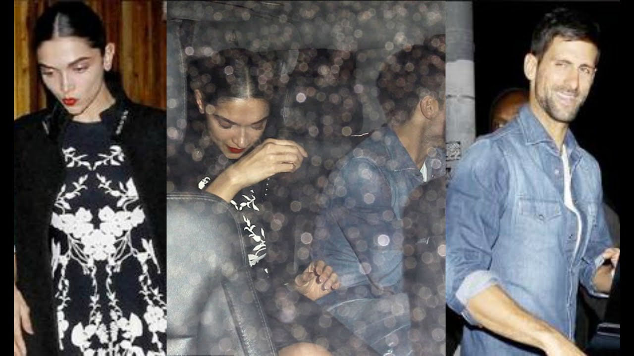 Is Deepika Padukone dating NOVAK DJOKOVIC? 1