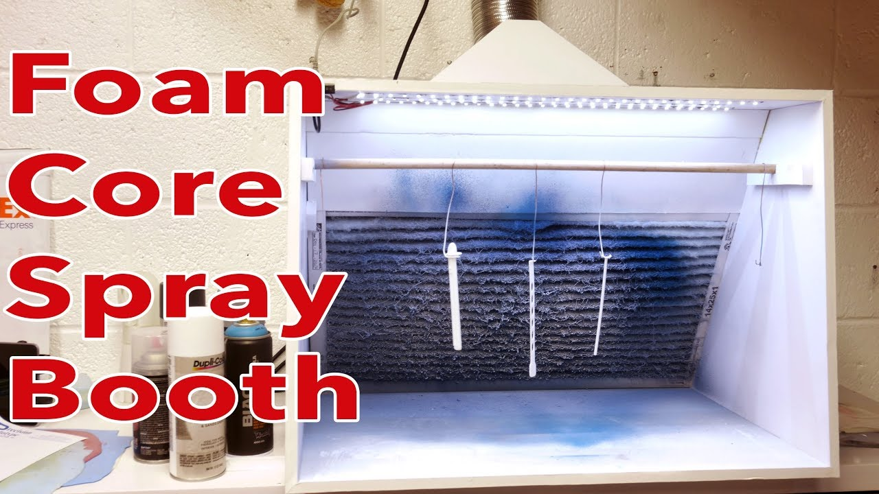 Foamcore Model Making Hobby Spray Booth Work Or Craft Area For Under 200