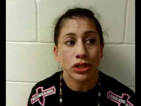 Jenna Castillo post fight interview