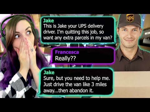 Never Get in a Strangers Van!! | THE DELIVERY (Text Story)