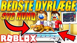 The BEST VETERINARIAN 😷-SICK DOG 🐶-veterinarian SIMULATOR-English ROBLOX-EP 1