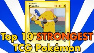 Top 10 All-Time Strongest TCG Pokémon
