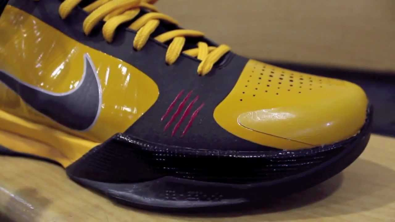 best service 113cb 64569 Pickup Video: Nike Zoom Kobe 5 Bruce Lee and Kobe 4 Carpe Diem