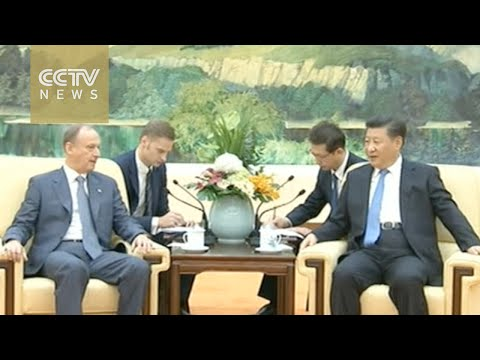 Chinese President Xi Jinping meets Russian security chief