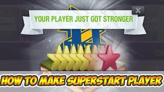 How to make SUPERSTAR PLAYER for FREE! | Top Eleven 2017