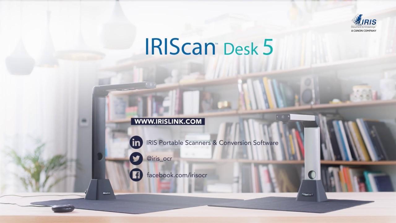 Iriscan Desk Desktop Camera Scanner Youtube