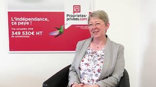 A la rencontre des conseillers immobiliers Proprietes-privees.com - Claudine DURAND