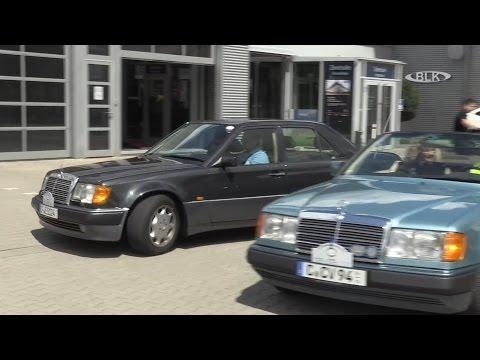 Mercedes Benz W124 Fanclub Jahrestreffen E-Klasse Weissenfels Senger-Kraft Cabrio